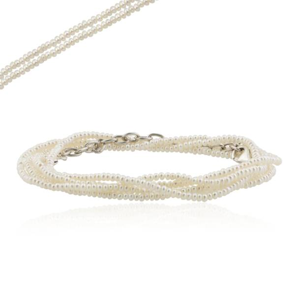 """SINGLE PEARL STRAND NECKLACE 34-36"""""""